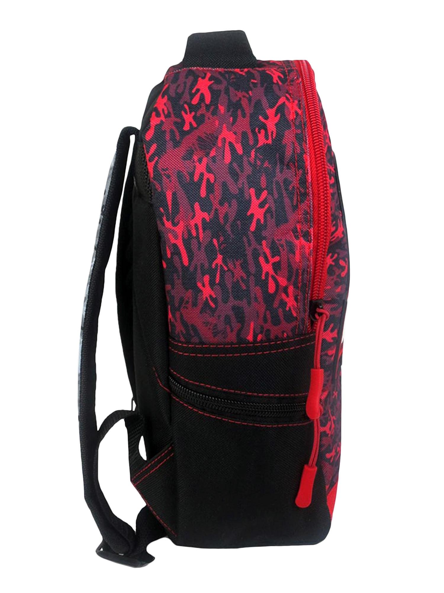 "Boys Jurassic Park Mini 12/"" Backpack Raised Logo Camouflage Print"