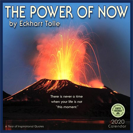 Power of Now 2020 Wall Calendar: By Eckhart Tolle (Other) (Tolle Sonnenbrille)