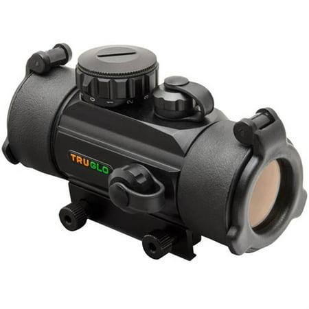 - TruGlo Crossbow Series 30mm Red Dot Sight, 3-Dot Reticle, Black - TG8030B3