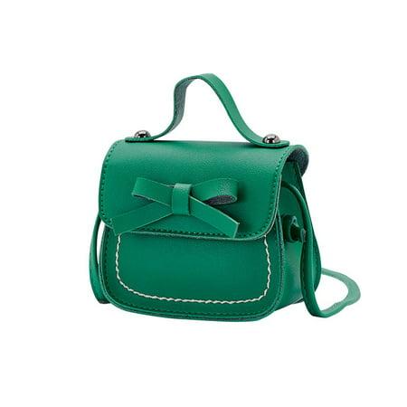 Baby Girls Kids Mini Messenger Crossbody Bag Bowknot Handbag Shoulder - Girls Hand Accessories
