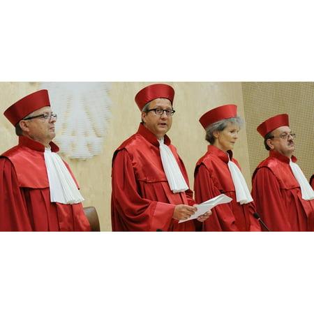 LAMINATED POSTER Judge Judgment Judge Robes Court Garment Law Poster Print 24 x - Judge Robe