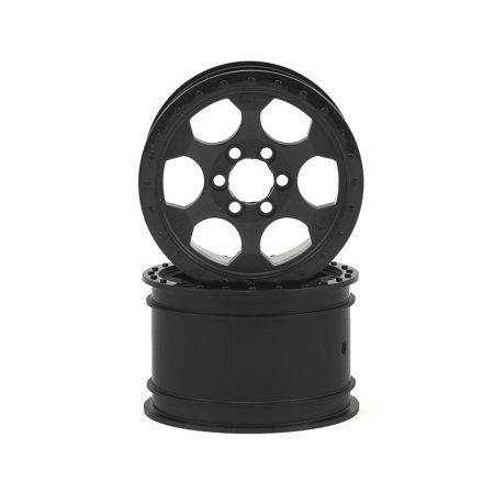 Crawler Innovations Double Deuce 6 Bolt 2 2 Crawler Wheel  Black   2   1 5 Wide
