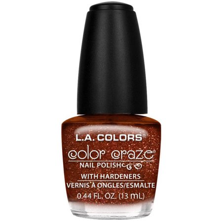 L A Colors Color Craze Nail Polish With Hardeners Desert Dune 0 44 Fl Oz