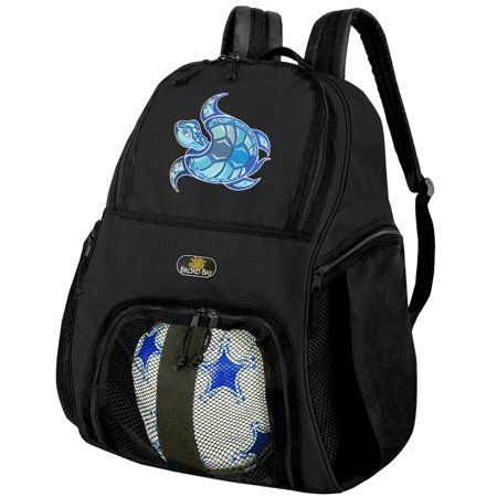 Sea Turtle Soccer Backpack or Turtle Volleyball Bag - Volleyball Backpacks