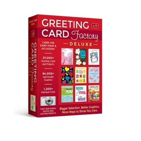 Greeting Card Factory Deluxe 11 (Email Delivery) ()