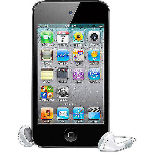 Apple iPod touch 4th Generation 8GB (Black or White), Refurbished