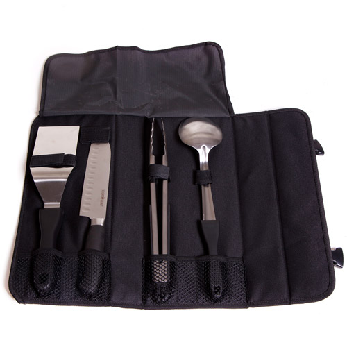 Camp Chef 5-Piece Stainless Steel, Cooking Utensil Chef Set