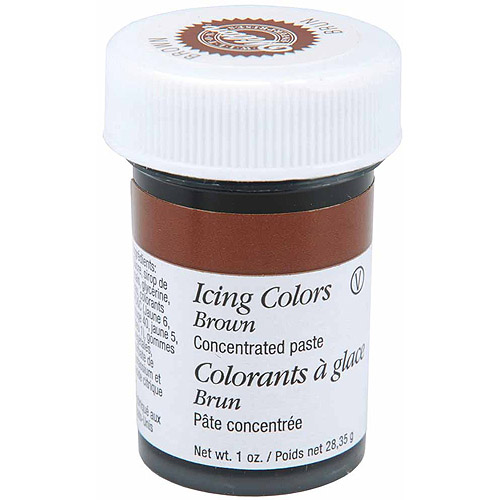 Wilton 1 oz. Icing Colors, Brown 610-507