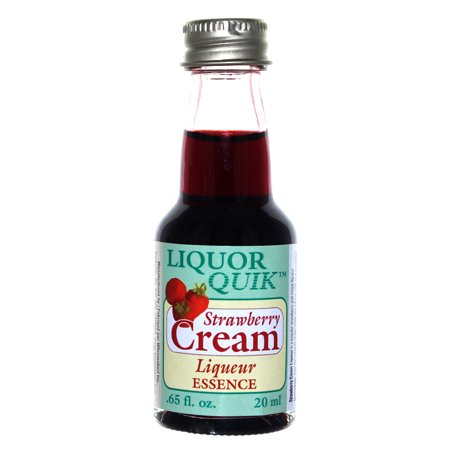 Liquor Quik Natural Liquor Essence 20 mL (Strawberry Cream Liqueur) Creme De Cassis Liqueur