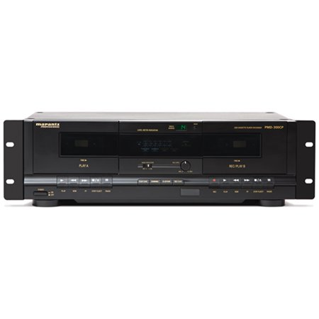Marantz Professional PMD-300CP | Dual Cassette Player & Digital Recorder with USB