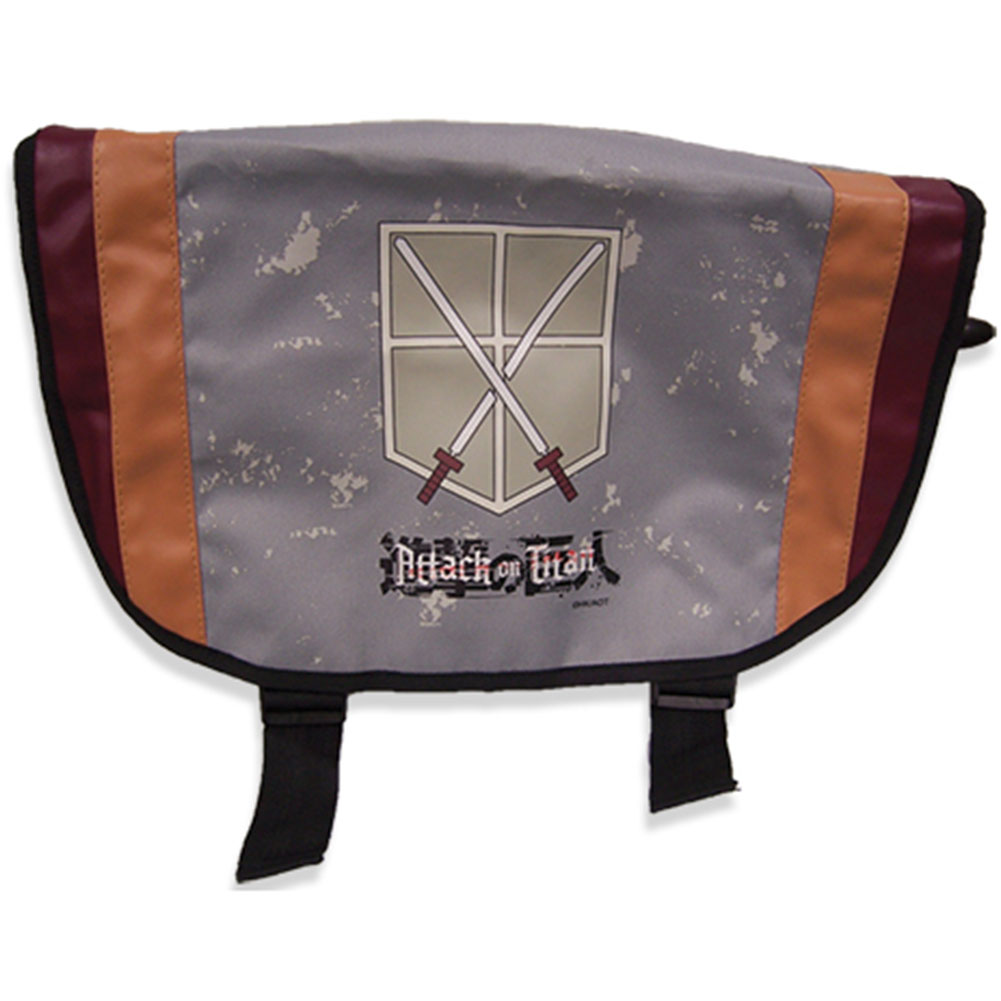 Attack On Titan Trainees Squad Anime Messenger Bag