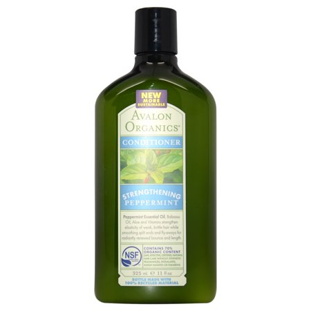 Avalon Organics Strengthening Peppermint Conditioner, 11 (Avalon Nutrition Conditioner)