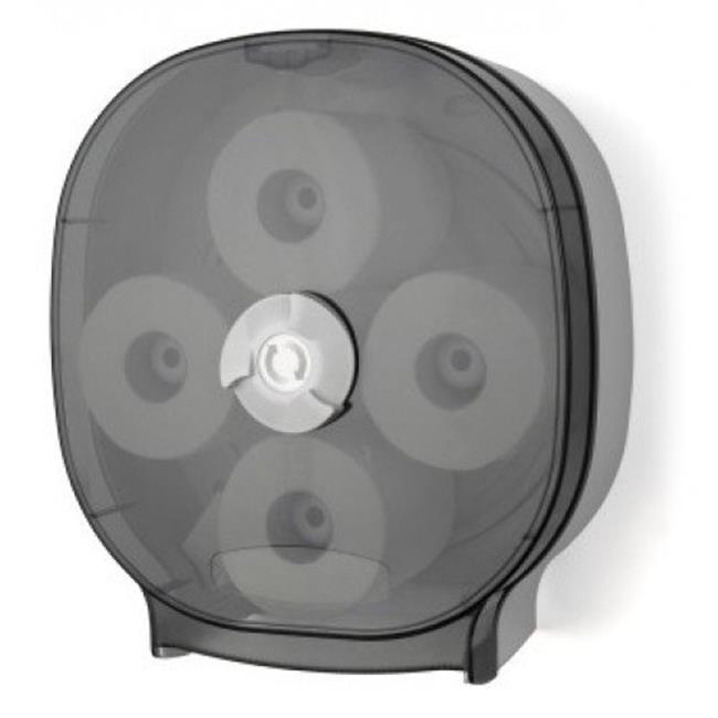 E-Z Taping System RD0044-01 Roll Carousel Standard Tissue Dispenser in Dark Translucent