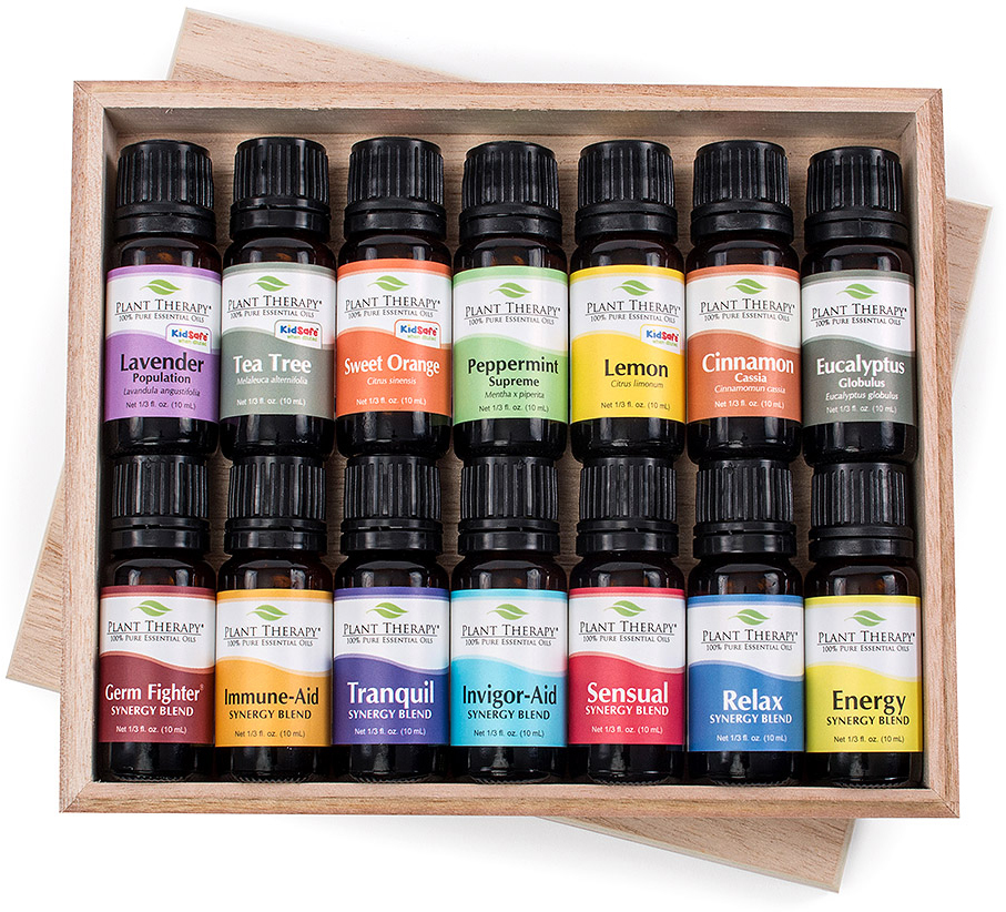 14 Essential Oil Set (7 Synergies and 7 Singles)