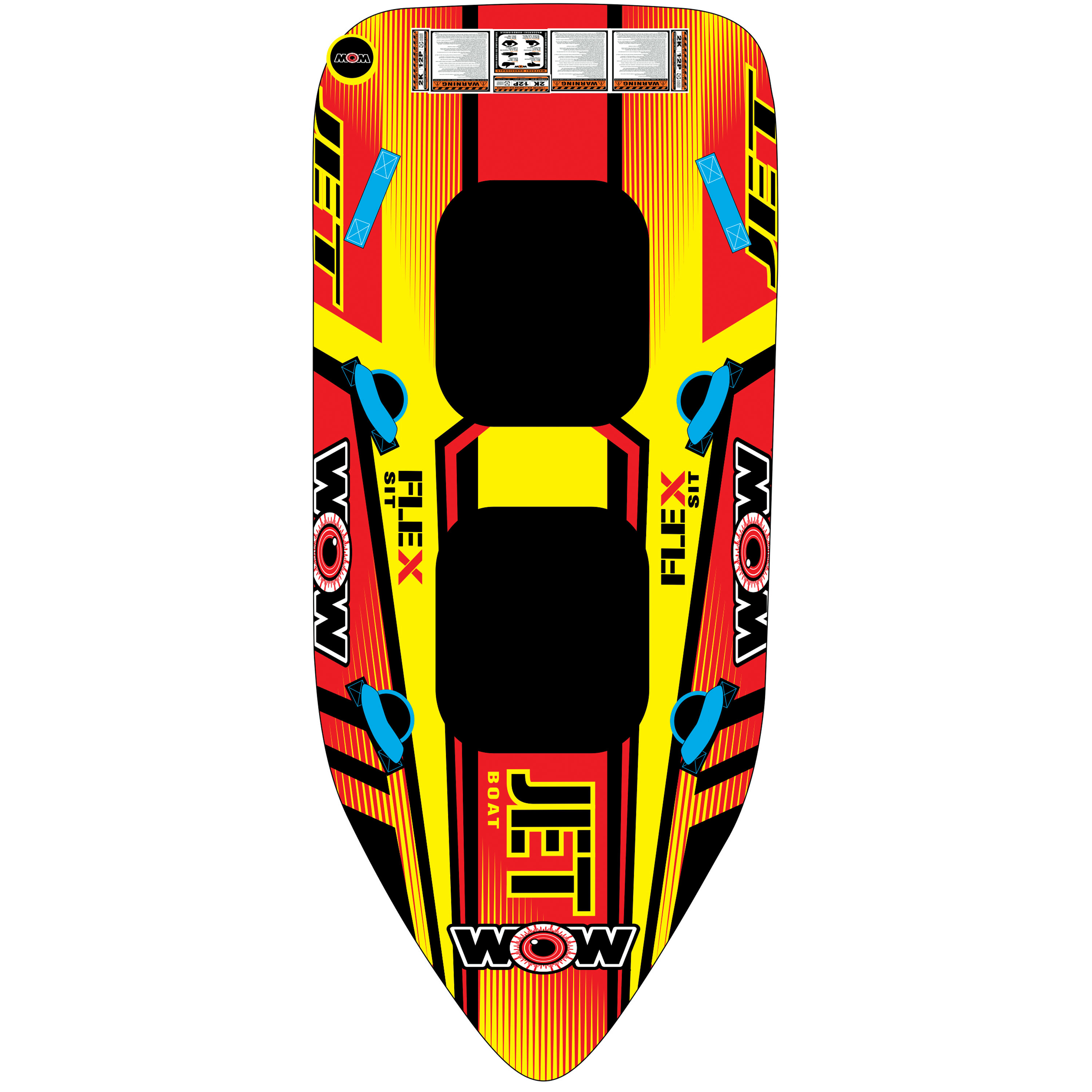 Wow 17-1020 Towable Wow Jet Boat 1-2 Person