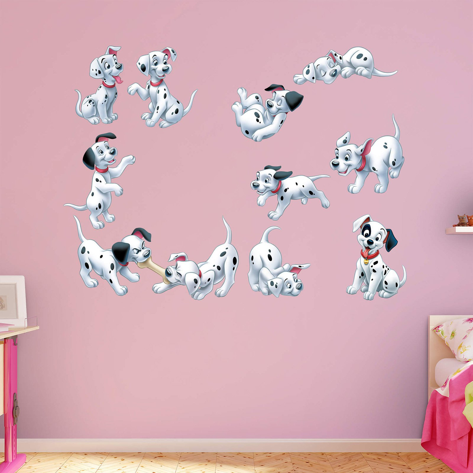 Fathead 101 Dalmatians Puppy Wall Decal Collection