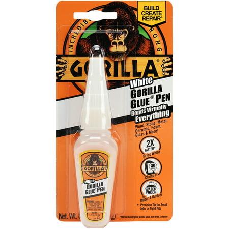 Gorilla White Gorilla Glue Pen, .75 oz., White