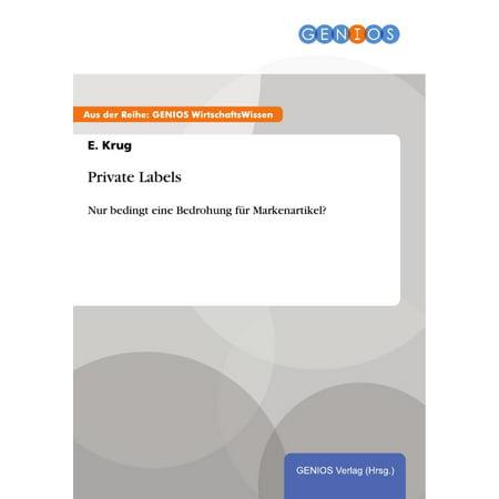 Clothes Private Label (Private Labels - eBook )