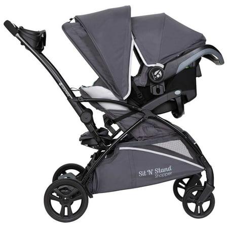 Baby Trend Sit N Stand® 5-in-1 - Shopper Stroller - Blue Mist - Blue