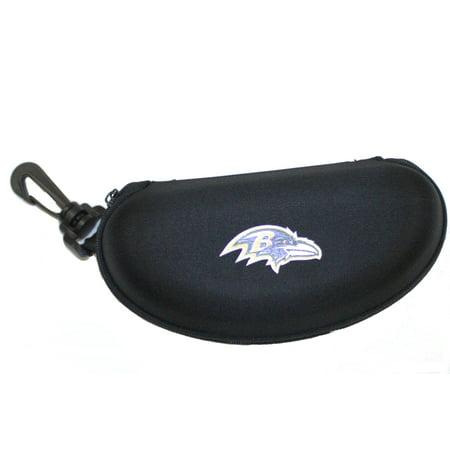 Baltimore Ravens Semi Hard Zip Up Sunglass (Pepper's Sport Sunglass Case)