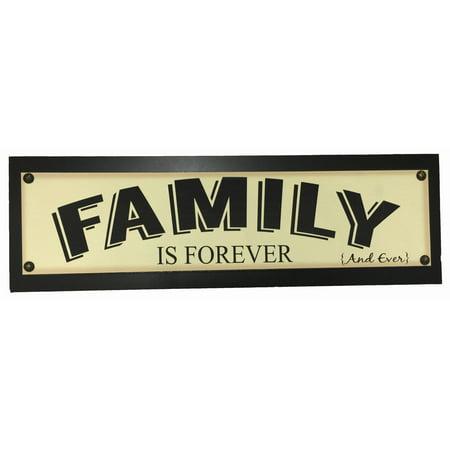 family is forever sign. Black Bedroom Furniture Sets. Home Design Ideas