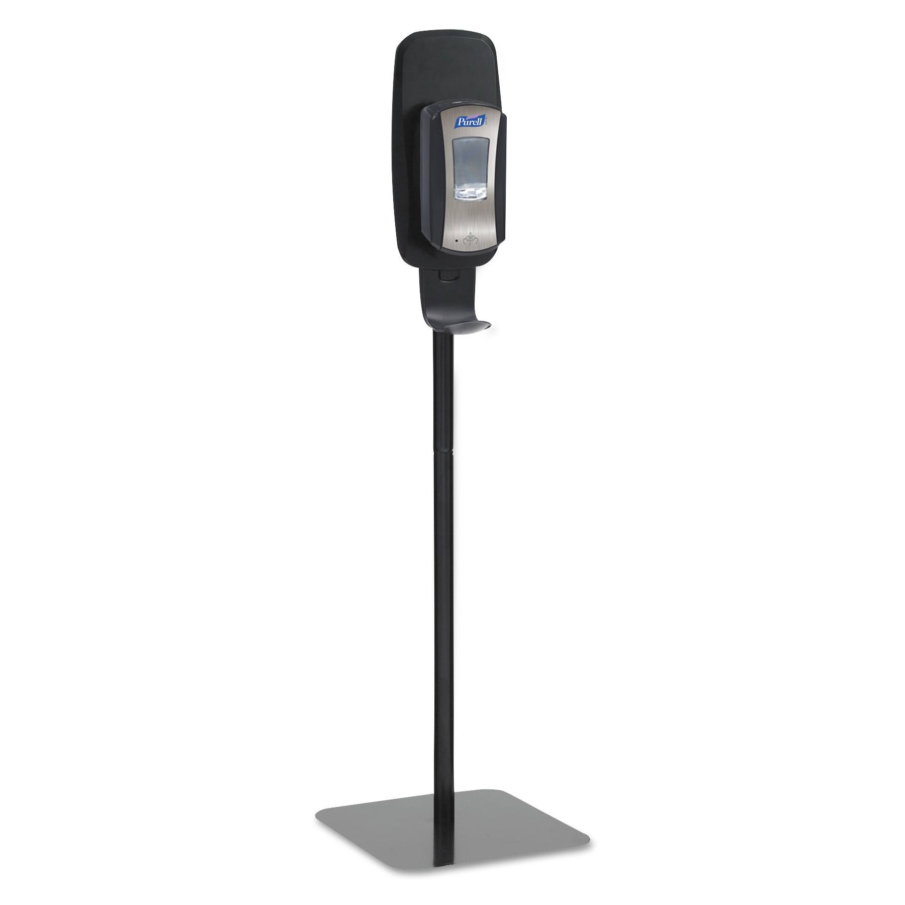 PURELL LTX or TFX Touch-Free Dispenser Floor Stand, Black, 23 3/4 x 16 3/5 x 5 29/100
