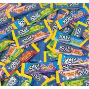 Jolly Rancher Original Stix, Assorted Fruit Flavor Hard Candy, Watermelon, Cherry, Blue Raspberry, Green Apple, Grape Flavored Candies, Bulk 2 Pounds Bag