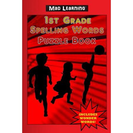 Mad Learning : 1st Grade Spelling Words Puzzle Book](Grade 2 Halloween Spelling Words)