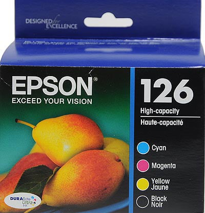 Epson 126 Standard-capacity Black Color Combo Pack Ink Cartridge by Epson