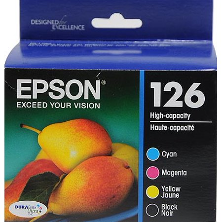 Epson 126 Standard-capacity Black/Color Combo Pack Ink Cartridge 140 Retail Combo Pack