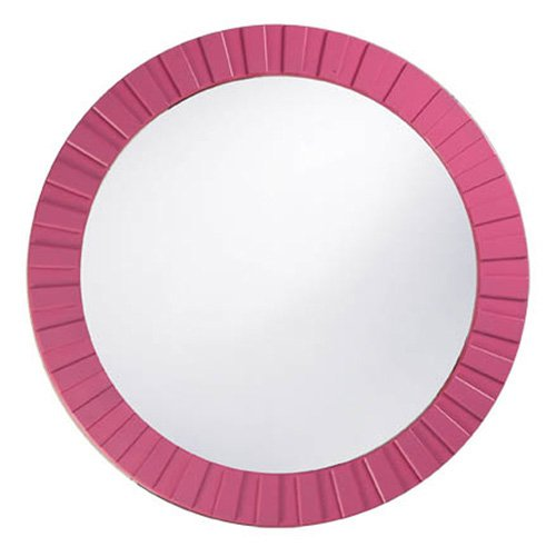 Howard Elliott Custom Color Serenity Mirror - 34 diam. in.