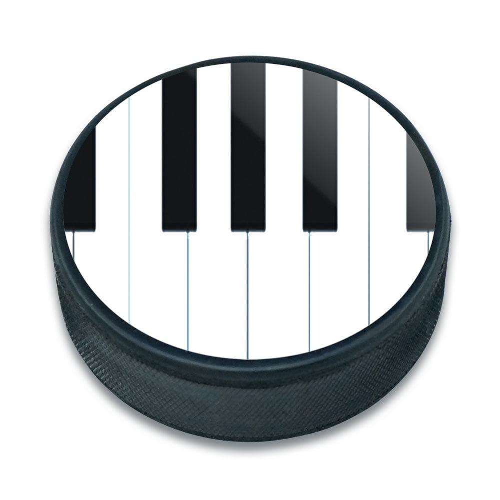 Piano Keys Music Ice Hockey Puck