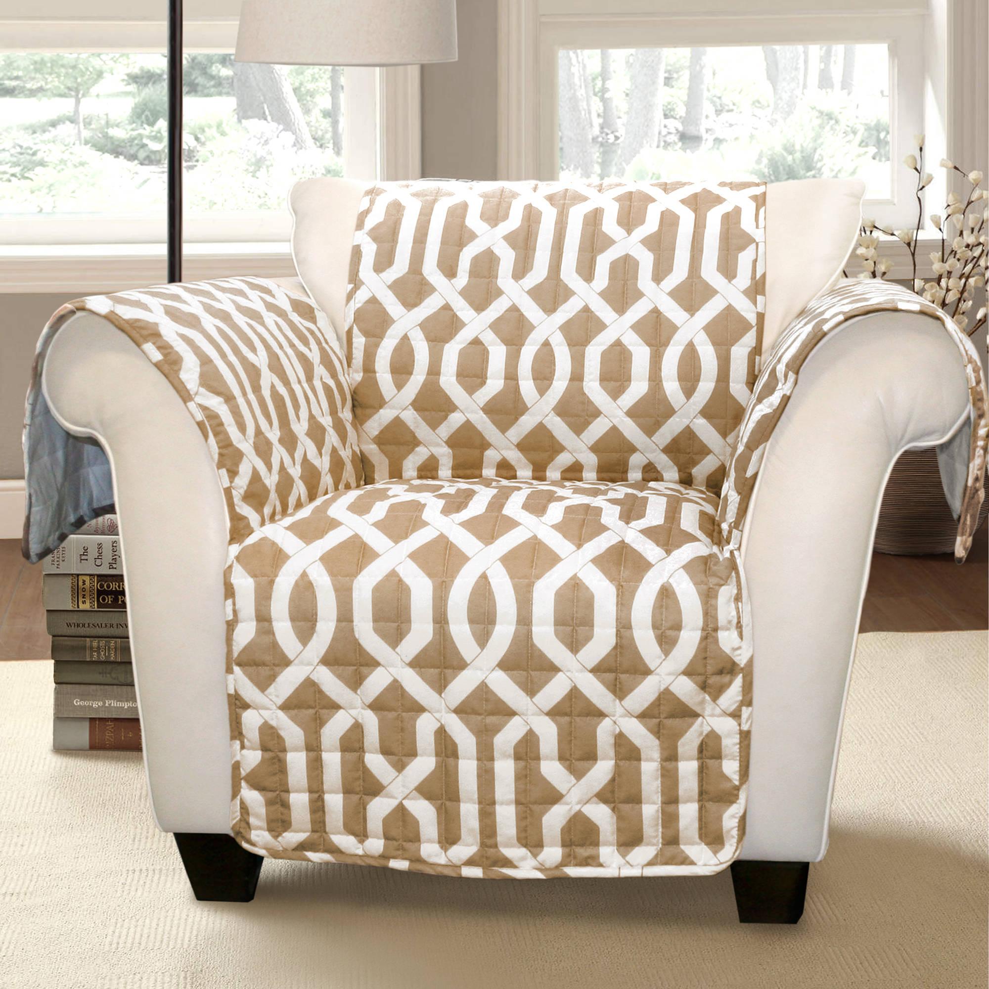 Generic Edward Trellis Furniture Protector, Taupe