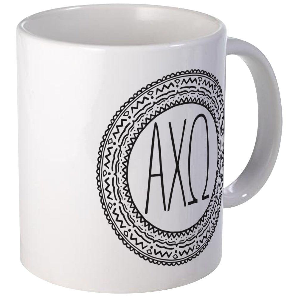 CafePress - Alphachiomega Medallion - Unique Coffee Mug, Coffee Cup CafePress