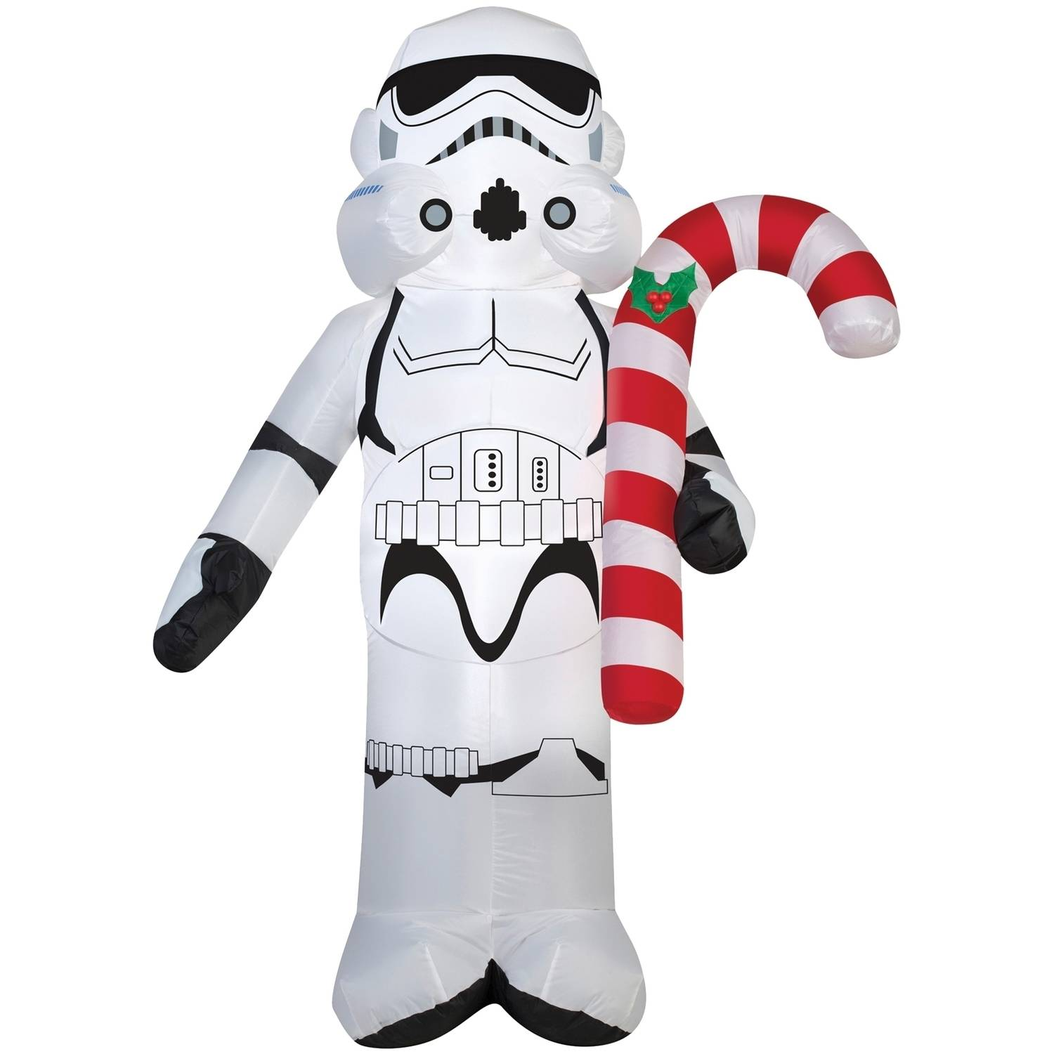 Stormtrooper with Candy Cane Christmas Decoration