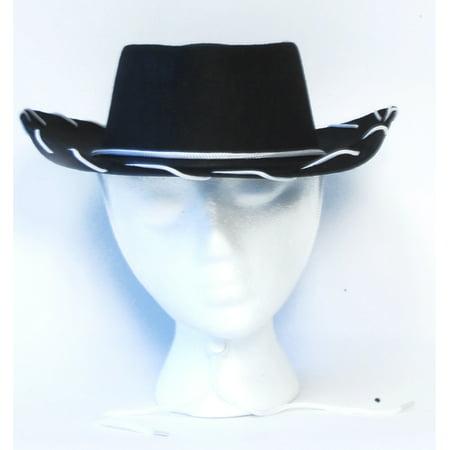 Cowboy Costume Hat: Black