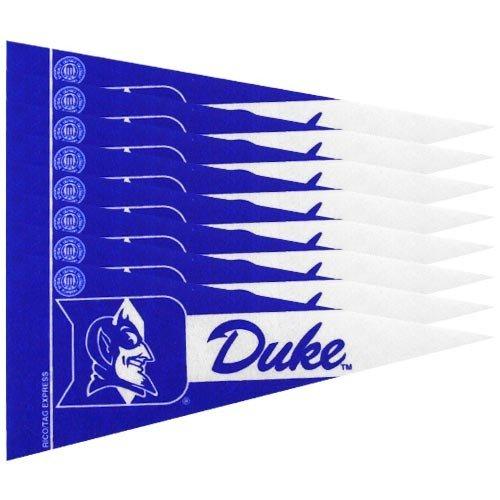 NCAA - Duke Blue Devils Mini Pennant Set: 8-Pack