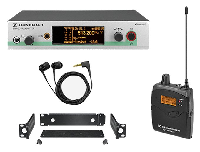 Sennheiser EW 300IEM G3 A Band Wireless Monitor System by Sennheiser