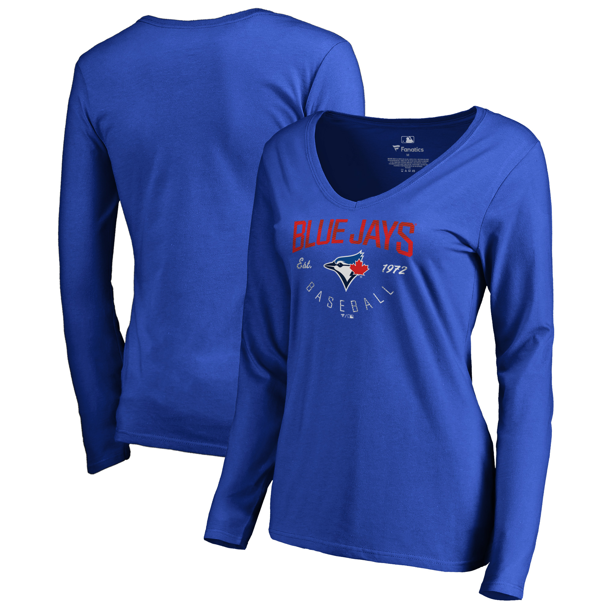Toronto Blue Jays Fanatics Branded Women's Live For It Long Sleeve T-Shirt - Royal