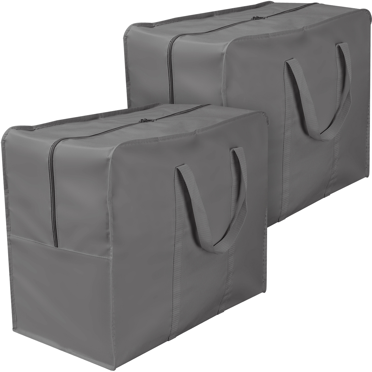 Sorbus Storage Bag Organizers, Great for Clothes, Blankets, Bedding, Foldable & Portable for Travel, Closet, Bedroom, Dorm, and more (Travel Storage Bag - 2 Pack)