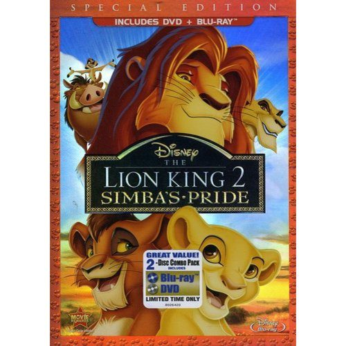 The Lion King II: Simba's Pride (Special Edition) (DVD + Blu-ray) (Widescreen)