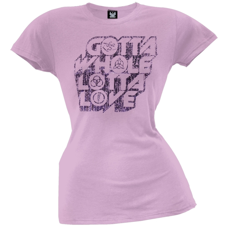 Led Zeppelin - Whole Lotta Love Juniors T-Shirt