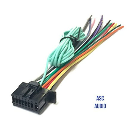 asc car stereo power speaker wire harness plug for pioneer. Black Bedroom Furniture Sets. Home Design Ideas