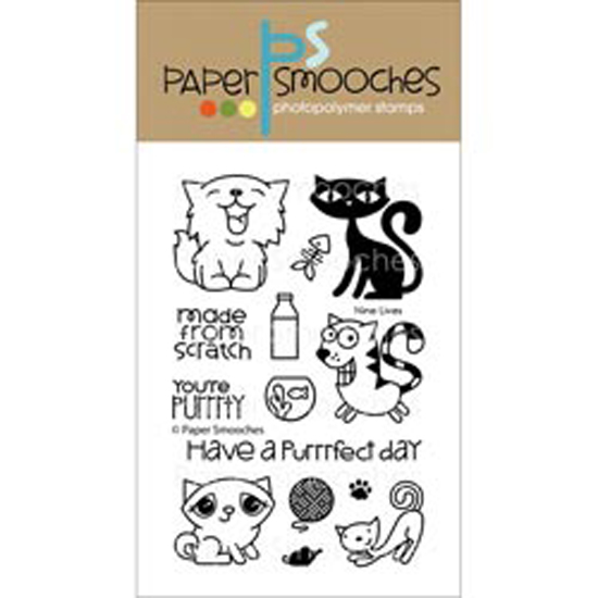 "Paper Smooches Clear Stamps, 4"" x 6"""