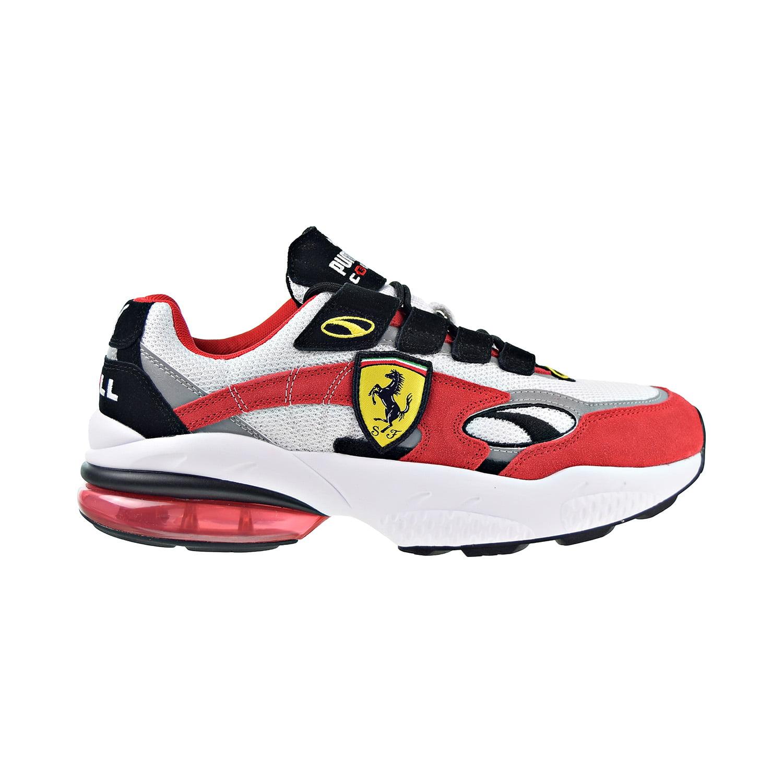 Shoes Puma White-Rosso Corsa 370338-01