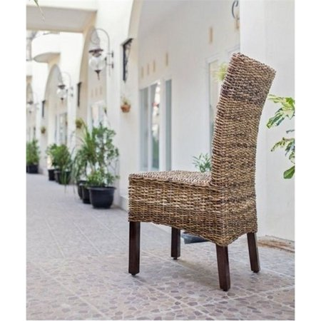 Bowery Hill Woven Abaca Dining Chair - image 2 of 2