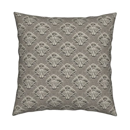 French Floral Country Throw Pillow Cover w Optional Insert by Roostery