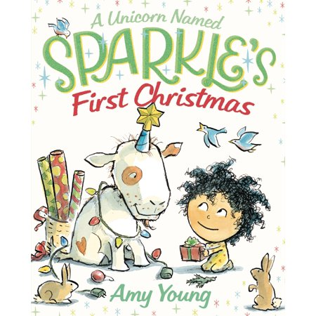 A Unicorn Named Sparkle's First Christmas (Hardcover) - Christmas Character Names