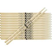 Promark 12-Pair Japanese White Oak Drumsticks Wood 2B