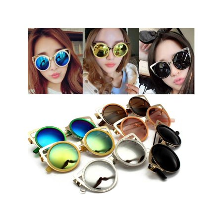 Fashion New Women Retro Vintage Shades Oversized Designer Cat Eye Sunglasses (Vintage Cat Eye Glasses For Sale)